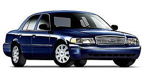 Ford  Aged: Ford's 2006 Crown Victoria is a police and taxi fleet favourite in the US.