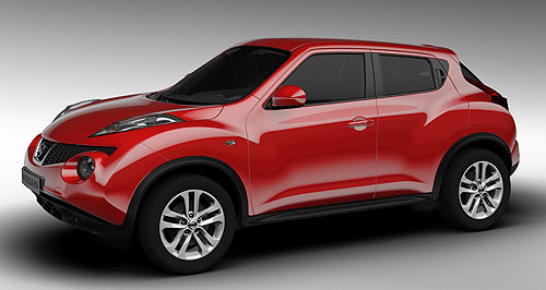 Nissan 2015 Juke Off and on: The current Nissan Juke will not come to our shores, but its successor, due in 2015, might.