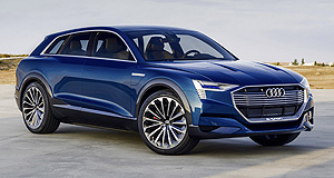 Audi 2018 e-tron quattro Brussels sprout: Belgium has won the job of producing Audi's first battery-electric vehicle based on the  E-tron Quattro that surfaced in concept form at Frankfurt.