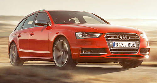 Audi A4 rangeUber-wagon: Audi has introduced a new Avant version of its blistering S4 performance leader as part of a wider A4 range upgrade.