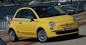 Chrysler  Small contribution: Chrysler reportedly has its eyes on the Fiat 500 for US release.