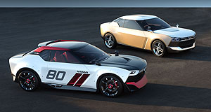 Nissan 2015 iDx Sporty number: One version of these two slick Nissan IDx show cars will soon become a full-fledged road car.