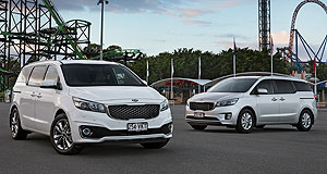 Kia Carnival Fun of the fair: The new Carnival completes the renewal of the entire Kia line-up in Australia.