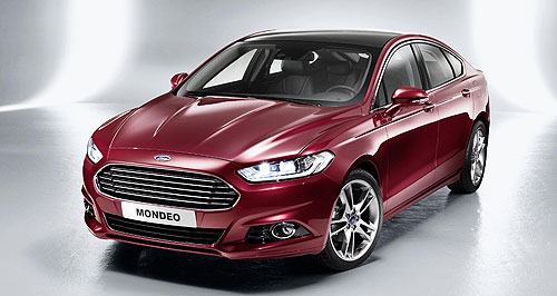 Ford 2013 Mondeo Family trip: Ford is showing great confidence in its 1.0-litre three-cylinder EcoBoost petrol engine by fitting it in the Mondeo, which is not much smaller than a Falcon.