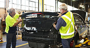 Ford  End of the line: A Ford Falcon will be the final car to roll off the Broadmeadows assembly line on Friday, October 7.