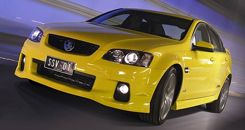 Holden Commodore Rolling on: Holden's Zeta-based Commodore could continue long-term provided sales numbers demand the local large car.
