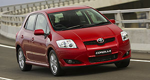 Toyota Corolla rangeHot cakes: Toyota has sold a Corolla every 40 seconds for the past 40 years.