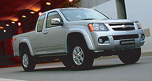 Holden 2008 Colorado New ute: Chevrolet Thailand's facelifted Colorado.