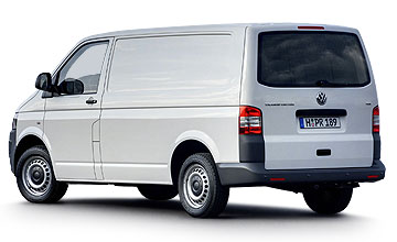 August 2004 - March 2010 Volkswagen Transporter range Rear shot