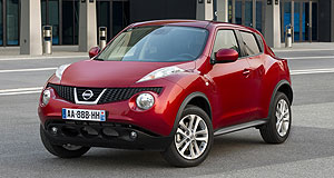 Nissan 2013 Juke Juke it out: Nissan's youth-oriented icon will arrive here in the third quarter next year.