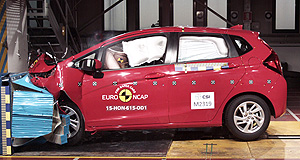 General News Safety Top pick: Honda's Jazz light hatch was the safest supermini tested by Euro NCAP last year, beating out a number of rivals including the Mazda2.