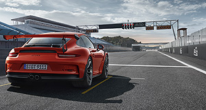 Porsche  Poles apart: Porsche's Pole Position program allows local Porsche owners to use their own car for a few laps of Albert Park's Formula One Grand Prix circuit.