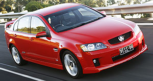 Chevrolet 2014 SS Chev 'SS': An American website claims that Chevrolet will sell a version of Holden's next-gen VF Commodore in the US.