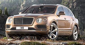 Outlook 2016 models SUVLap of luxury: Bentley's Bentayga marks the first time the company has entered the SUV space, and it hits Australian shores in Spring.