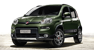 Fiat 2013 Panda Green machine: Fiat claims the Panda 4x4 is the only four-wheel-drive vehicle in the city car 'A segment'.