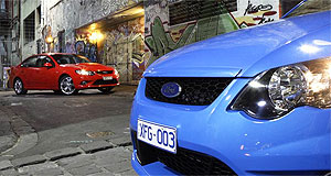 Ford  On the up: Ford has high hopes for Falcon sales this year.