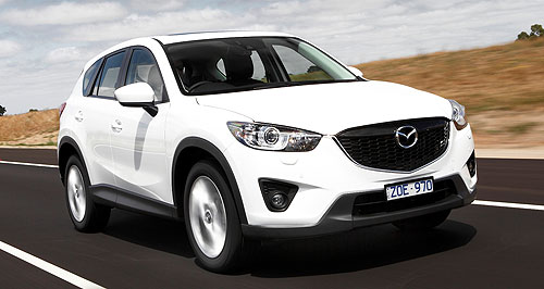 Mazda CX-5 Donor: The more potent new 2.5-litre engine in all-wheel-drive CX-5s has been transplanted from the Mazda6 sedan and wagon range.