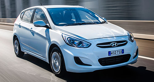 Hyundai  Foreign Accent: The Accent will push on in its current guise for a while yet as Hyundai considers its replacement.