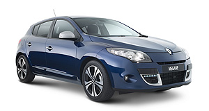 Renault Megane Limited number: Despite the name, the special edition Megane is based on the entry-level Megane Dynamique, not the RS Sport hot hatch.