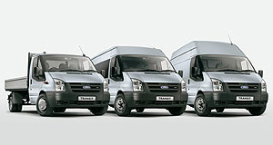 Ford Transit In Transit: Ford has replaced the engines in its familiar Transit cab-chassis, van and bus range.