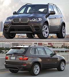 BMW2010 X5 center image
