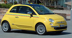 Fiat 500 Air action: Fiat 500 buyers get 100,000 Velocity points with each car bought in April.