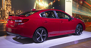 Subaru 2016 Impreza Candy apple: Subaru's all-new Impreza is set to land in Australia about December as a Christmas present to Subaru Australia, which is hoping for bigger things from its smallest passenger car.