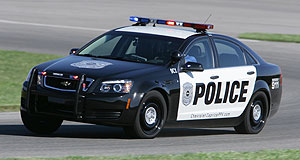 Chevrolet 2011 Caprice PPVFlog it: A Chevrolet Caprice PPV being put through its paces by a police officer in the US.