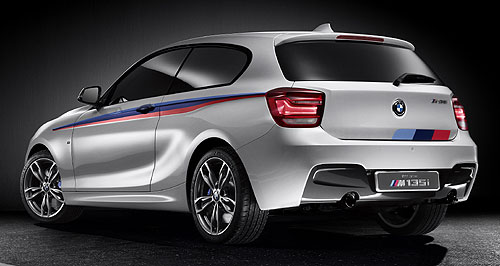 BMW 2013 1 Series Not quite an M1: Concept M135i  previews next instalment of BMW's new 1 Series range.