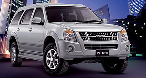 Isuzu 2012 D-Max Seven-seater: The current Isuzu MU-7 SUV is based on the D-Max and is sold in the burgeoning Thai market.