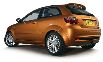 1997 to 2006 Proton Satria Neo range Rear shot