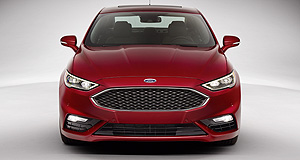 Ford 2016 Mondeo Power shift: North America is set to get the twin-turbo V6 Fusion V6 Sport, but Europe and Australia appear to have opted for the Mondeo ST.