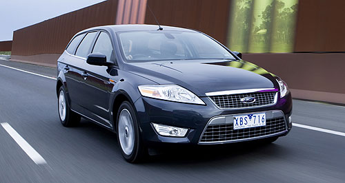 Ford Mondeo hatch/wagon rangeFuel saver: Ford has announced a new lean diesel engine for Mondeo, although it is not due in showrooms for weeks.