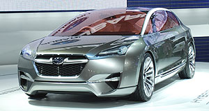 Subaru 2015 Hybrid Future direction: Subaru has been toying with hybrid technology for several years, showing the Hybrid Tourer Concept at the 2009 Tokyo motor show.