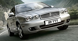 Jaguar 2012 X-Type Mid-sized cat: Jaguar will replace its discontinued X-Type  (seen left) to increase the brand's volume.