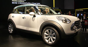 Mini 2010 Countryman Production future: Paris show car is expected to hit the road in 2010.