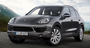 Porsche Cayenne S DieselFamily ties: The Porsche Cayenne S Diesel's 4.2-litre V8 comes courtesy of Audi.