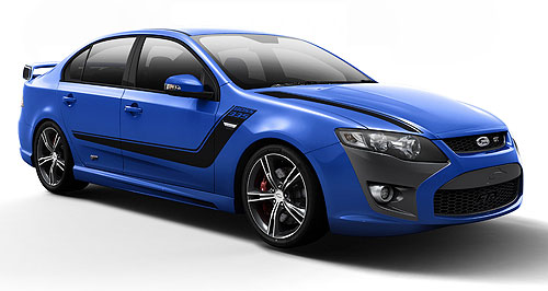FPV GT New addition: High-end FPV FG MkII models now come with an eight-inch Interior Command Centre as standard.