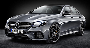 Mercedes-AMG E63 Bahnstorming: The E63 S packs a massive 450kW punch from its 4.0-litre twin-turbo V8 engine that sends the car from standstill to 100km/h in just 3.4 seconds.