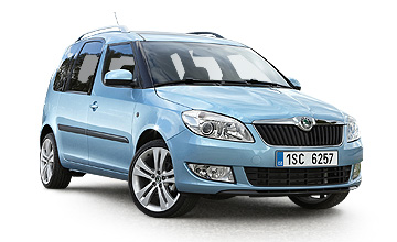 2012 Skoda Roomster hatch Car Review