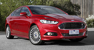 VFACTS Sales 2016 Mid-size mover: Sales of Ford's Mondeo jumped 686 per cent last month, with 409 units shifted.