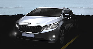 Kia 2015 Carnival Finally: Kia's oldest model, the Grand Carnival, is set for replacement by this sleek new MPV to be shown at the New York motor show on April 16.
