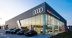 Audi  Spring break: The $16 million Audi Centre Springwood will feature 16 service bays and space for 17 new cars in the main showroom.