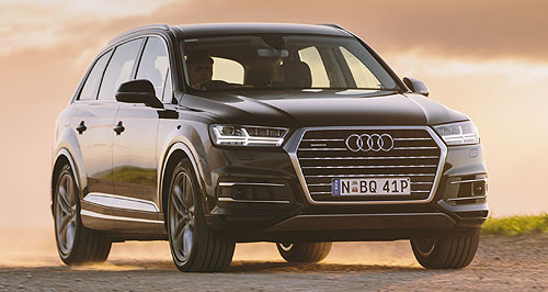 Audi  Form a Q: Audi's line-up of Q-badged SUVs will get a shot in the arm next year with the arrival of the diminutive Q2 in the first quarter.