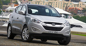 Hyundai  All day, every day: After 26 years in Australia, an ix35 SUV was the one-millionth vehicle sold in Australia.
