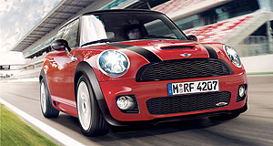 Mini Cooper JCW rangeOn track: The JCW Mini cranks out 27kW and 40Nm more than the standard Cooper S.