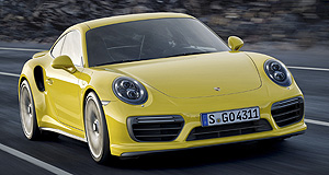 Detroit 2016 Turbo touchdown: The new range of Porsche 911 Turbos will make their debut at Detroit.