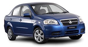 Ford  Beep-beep: Today's Barina is based not on Opel Corsa but Daewoo Kalos.