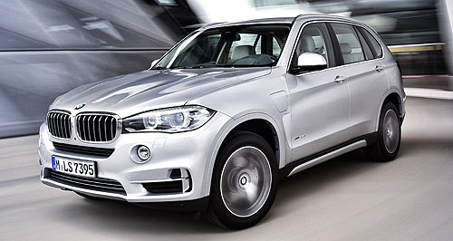 BMW  Say i: With its new 3 Series and X5 PHEV models, BMW has doubled its i-brand line-up, but says it will take more than just a broad range of vehicles for the Australian public to get involved.