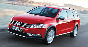 Volkswagen 2013 Beetle Grand entrance: The versatile Passat Alltrack will be priced below $50,000 when it reaches showrooms on November 1.
